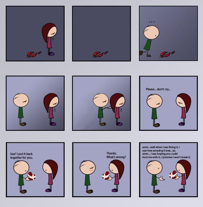Boy Meets Girl By Sipuku On Deviantart