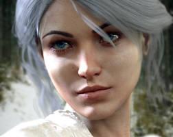 %22The Witcher%22 Ciri Character (Cirilla Fiona El