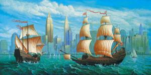 Columbus second visit