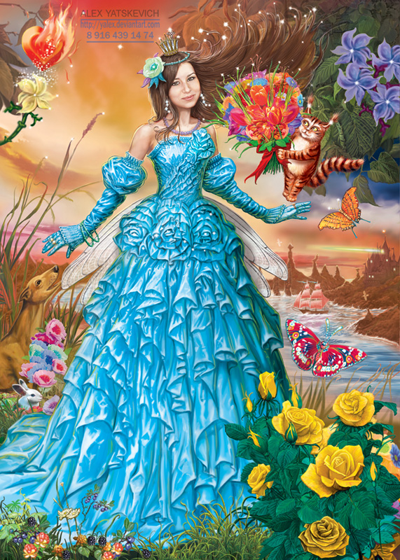 Girl fairy by yalex