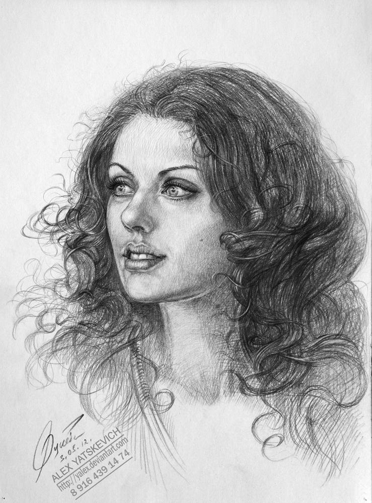 Portrait girl by yalex
