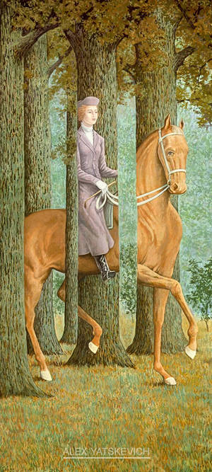 Rene Magritte, Le Blanc Seing  COPY