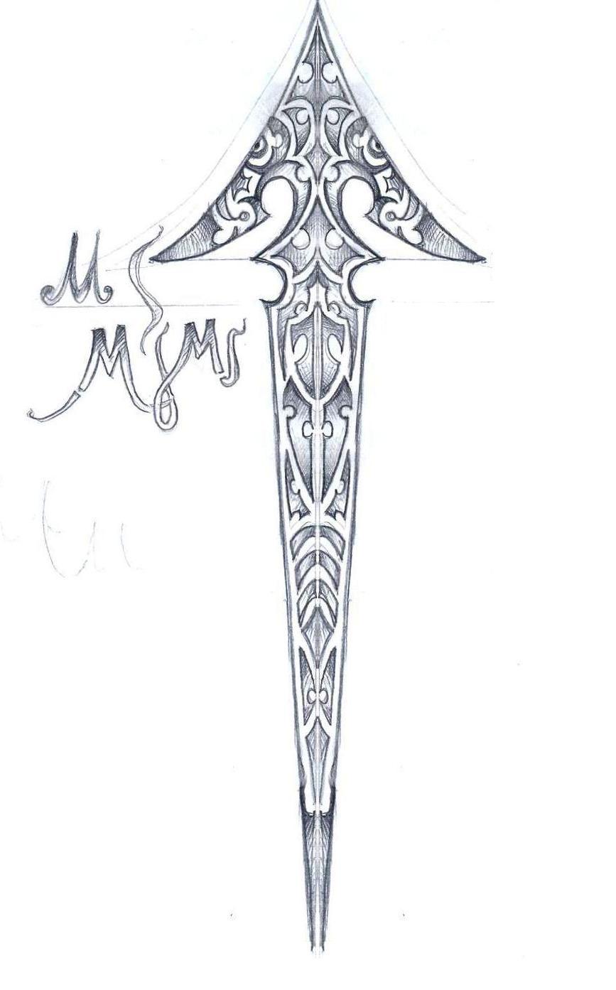 Tribal Arrow Tattoo Designs
