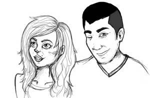 Yan and Elena by elenoosh