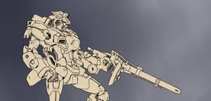 Unfinished Gundam