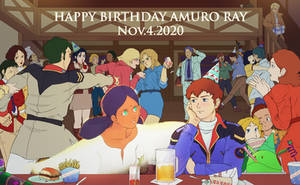 Amuro Ray Birthday !