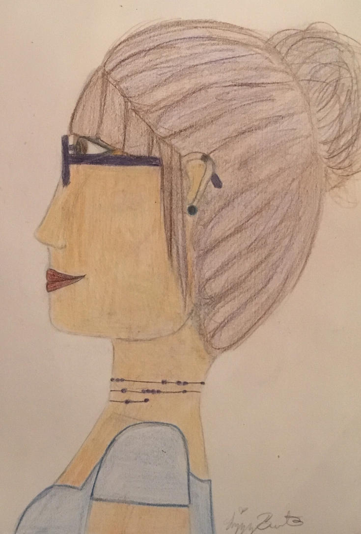Self Portrait  by HuffleuffPrincess
