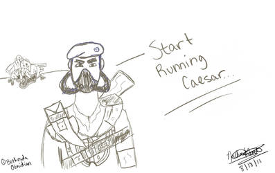 Now's the Time to Run Caesar