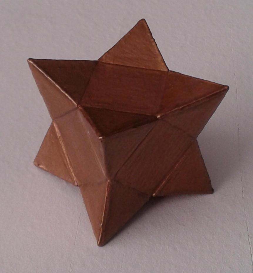 Cuboctahedron + 8 tetrahedrons by dragon-dan