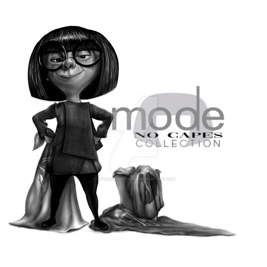 No Capes! - Edna Mode by AnythingButDown
