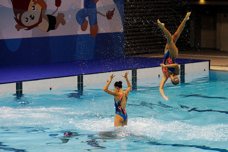 SEA Games Synchronised Swimming 1 by Timothy-Sim