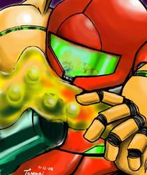 Metroid Fusion: X-Parasite by Tanooki128