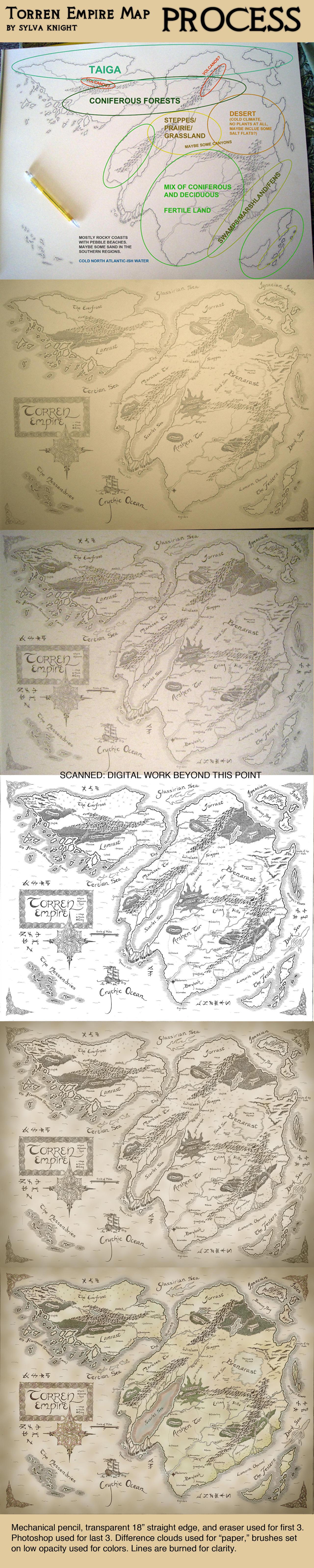 Torren Empire Process by SylvaKnight