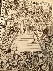 Doodle: The Door to Art by L-L-arts