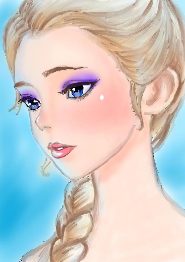 Elsa by L-L-arts