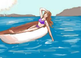 Summer Heat (Challenge) by L-L-arts