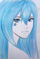 Galaxy Blue by L-L-arts