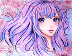 Sakura by L-L-arts