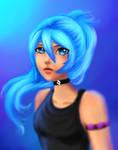 Blue Hair Re-draw