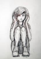 Inktober 20: Sketchy by L-L-arts