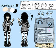 Vanilla Ref Sheet by L-L-arts