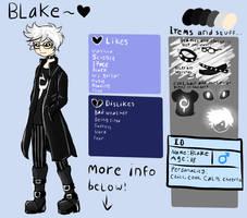 Blake Ref Sheet by L-L-arts
