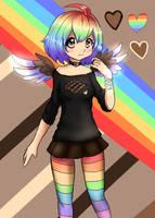 Chocolate Rainbow by L-L-arts