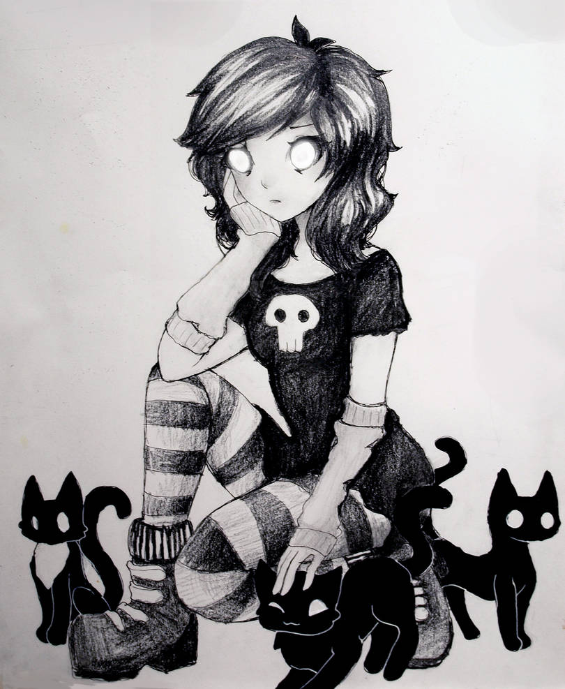 Black Cat by L-L-arts