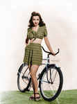 Kathryn Grayson (colorized)