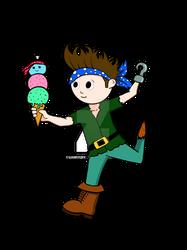 Jake the pirate boy