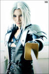 CRISIS CORE-Sephiroth Cosplay