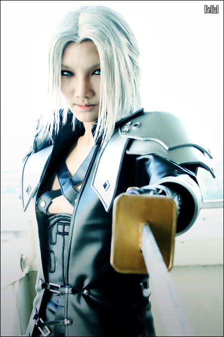 CRISIS CORE-Sephiroth Cosplay by BeBelial