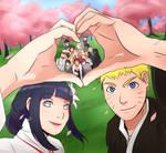 Naruto and Hinata's wedding
