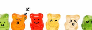 Cute Gummy bears by geegeemagic