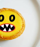 Monster Lemon Tart by geegeemagic