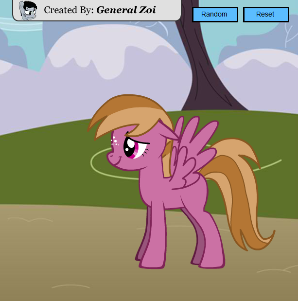 Scootaloo's Diary Characters - Rosy Fields