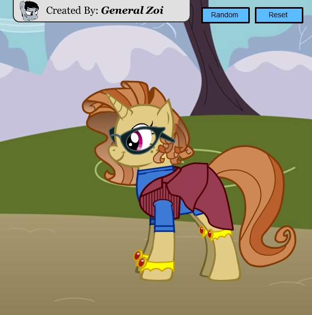 Scootaloo's Diary Characters - Sandy Shores
