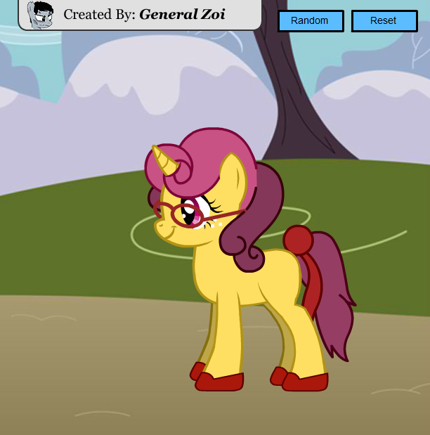 Scootaloo's Diary Characters - Golden Posey