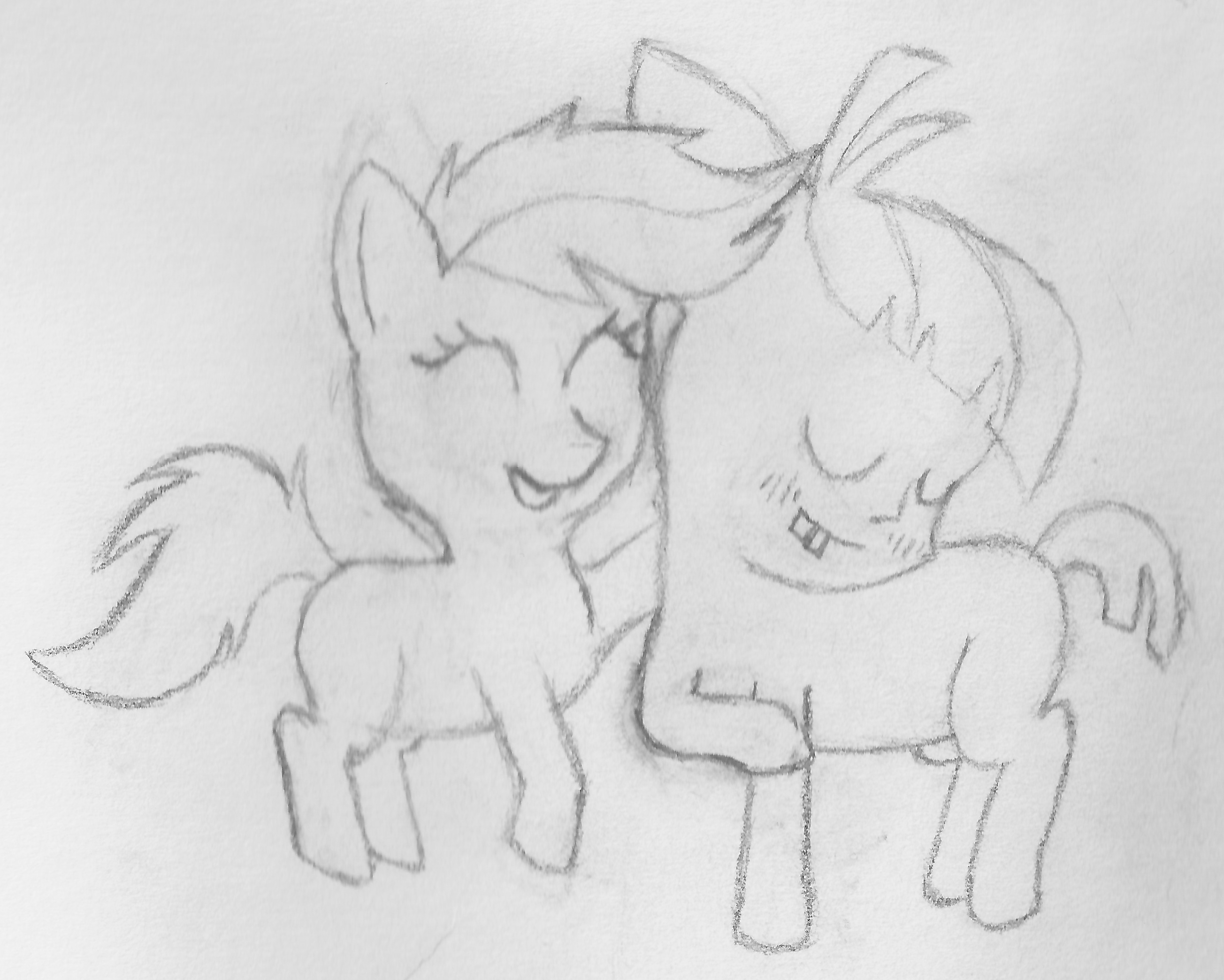 Featherweight x Scootaloo