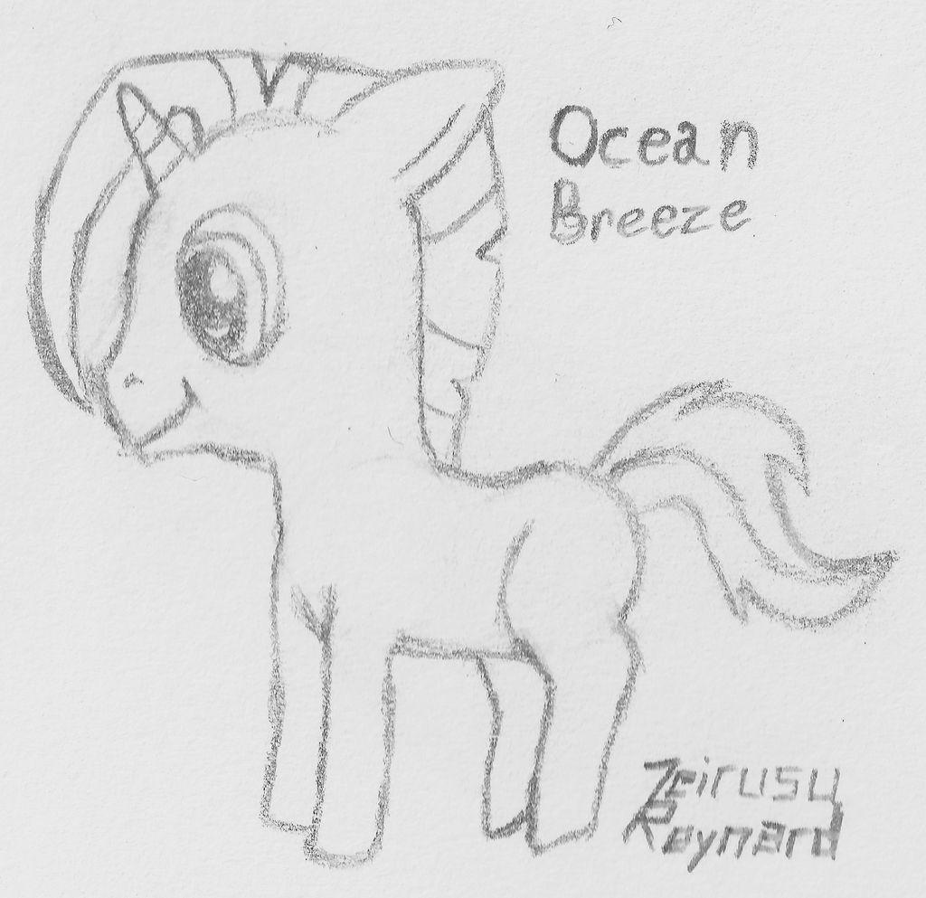 Ocean Breeze Sample Drawing