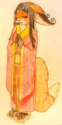 Kora Meditating by Tails-155