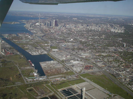 Toronto- view from above