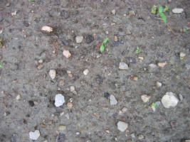 garden dirt and small stones by Exor-stock