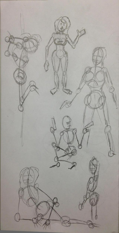 Random drawings.... by STLCajun
