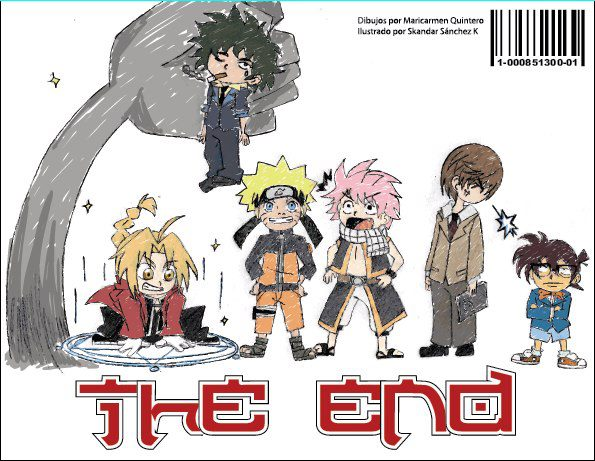 Chibi Attack -Proyecto final contraportada by Mary-Gotika