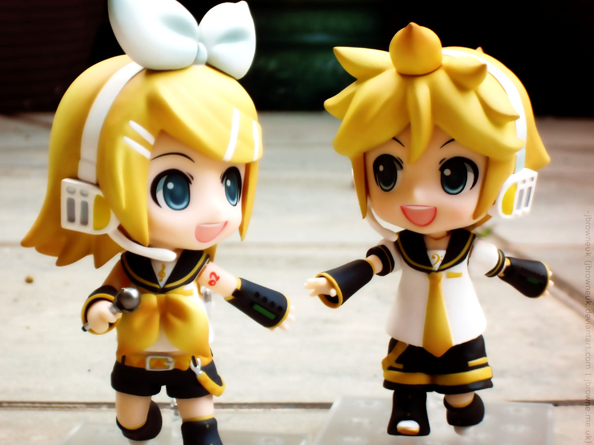 Vocagemini, Nendoroid style by jbrowneuk