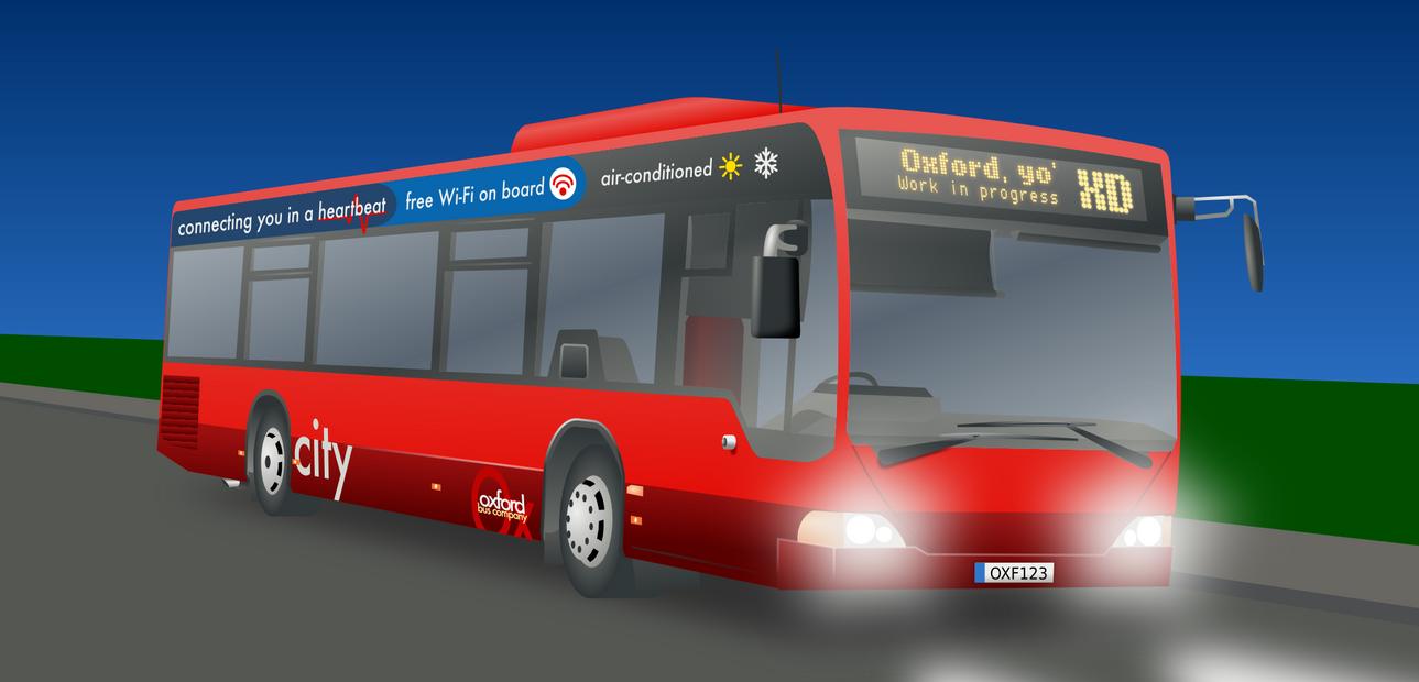 A bus (work in progress) by jbrowneuk
