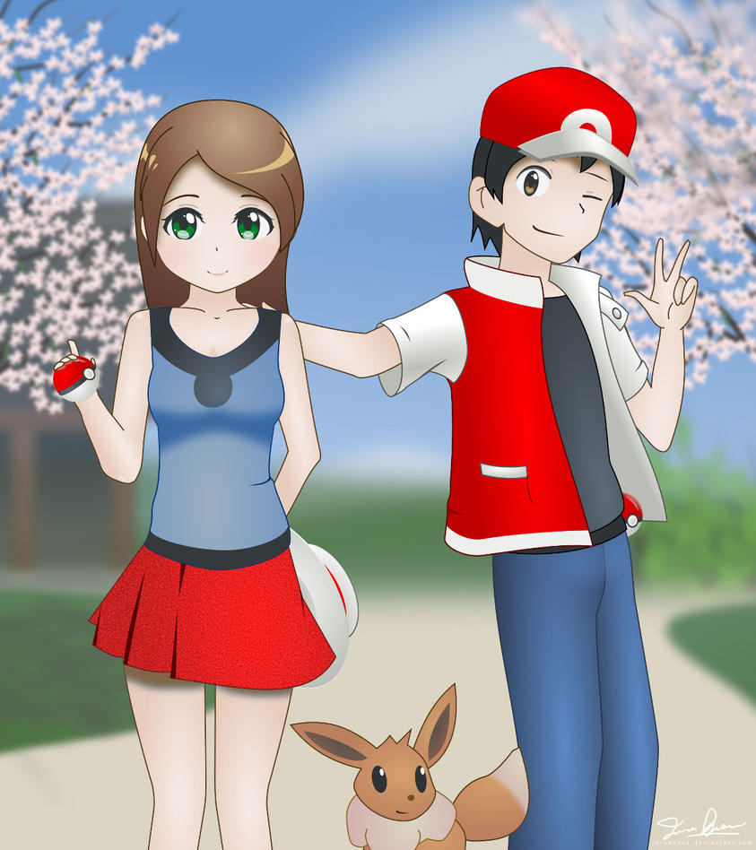Pokemon trainers by jbrowneuk