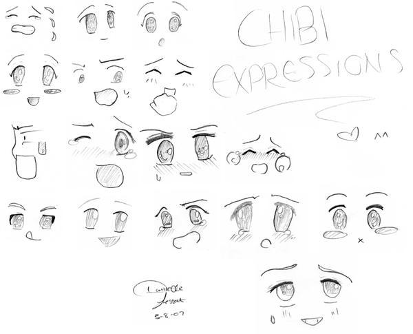 Chibi Expressions By Eternalspirit1991 On DeviantArt