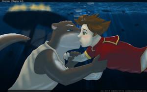 Underwater Kisses by eddiew